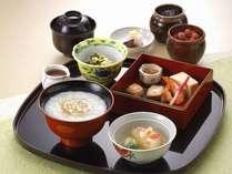 京懐石「美濃吉」朝食イメージ