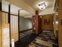 改装後エレベーターホール