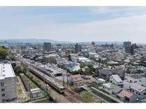 【安城駅前】お部屋の窓からは電車がご覧いただける場所もございます。