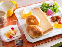 和洋食バイキング★健康朝食無料