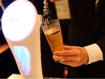 【夜の特典付】氷点下のアサヒスーパードライ♪夕食あとが待ちどおしい至極の1杯付プラン♪