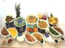 朝食バイキングイメージ※内容は季節や仕入れ状況により異なります。