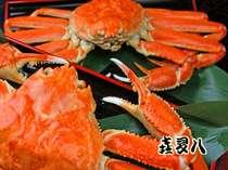 """冬の北陸と言えば・・・やっぱり""""蟹""""ですよね♪大きくて甘くて美味しい蟹をお楽しみ下さい!"""