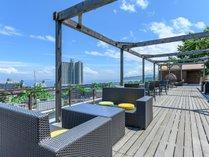 【桃山テラス】天気のいい日は熱海城や初島も望めます。