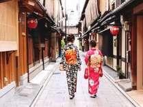 【女子旅】 女子旅 ウェルカムドリンクと京都の油とり紙プレゼント