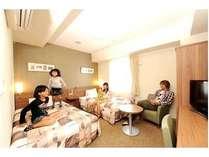 ☆★☆家族みんなで1つの部屋で☆★☆小学生以下のお子様は添い寝無料♪