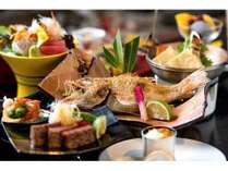 県内唯一、当館でしか味わえないの「炙り焼き会席」は一番人気のプラン★