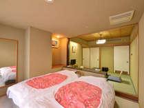 *ツインルーム/2ベッド+4.5畳小上り 鬼怒川ビュー