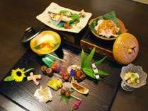 目で舌で季節を愉しむ1から手作りのお料理の数々。(2015年8月の献立一例)
