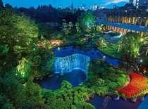 【日本庭園】夜