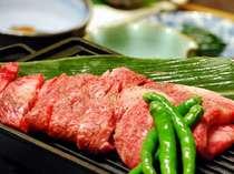 """【スタンダードプラン】~夕食はちょっと贅沢に個室で""""旬の山菜""""と国産牛ステーキを味わう~"""