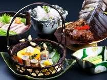 《記念日プラン》冬の献立…季節を感じる食材をふんだんに使用しています
