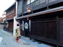 京都最古の伝統ある花街 上七軒