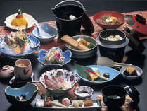 【鳥取の地魚季節の会席】○特プラン無料貸切風呂