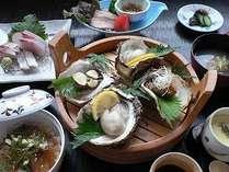 岩牡蠣御膳プラン(お食事は会食場で)