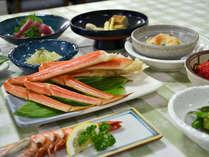 *【夕食一例】地元の味覚や旬の食材を生かしたお料理をご堪能ください!