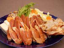 【カニAコース】カニ鍋でカニ満喫♪日本海だから楽しめるズワイガニ♪冬の味覚ずわいがにを気軽に楽しむ