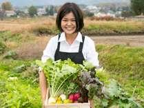 自家菜園の無農薬有機栽培の野菜
