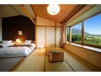 和洋室からの眺望イメージ 感動の南部富士のマウントビューが広がります♪