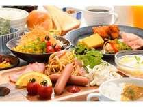 レストラン【朝食】盛付例