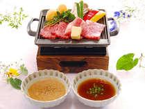 【和牛の鉄板焼き付プラン】とろける脂身と綺麗な赤身が自慢の和牛を鉄板焼きでお召し上がりください。◆