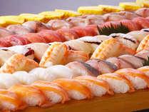≪夕食バイキング≫お子様から大人まで楽しめるにぎり寿司