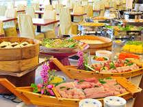 ≪夕食≫全50品以上の和洋中バイキング一例