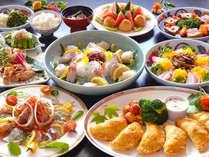 ≪夕食≫長崎名物「卓袱(しっぽく)料理」 ※一例