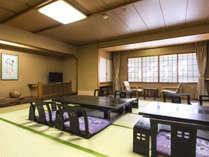 【大部屋】ご家族やグループ旅行におすすめ。畳の香りが心地良い純和風のお部屋です。 ※画像はイメージ