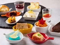 【青函市場一例】スイーツは夕朝食ともに全て当館パティシエの手作り。朝夕で異なるメニューは要チェック♪