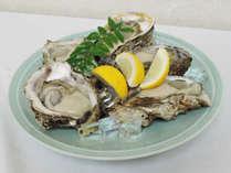 【2食付】今日はふんぱつ♪岩ガキをはじめ、海の幸をたっぷりと<贅沢プラン>
