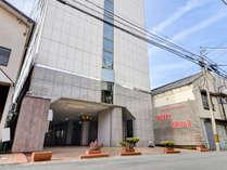 *外観/快適にお過ごしいただけるよう、設備の整ったホテルを目指しております!