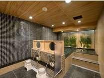 大浴場(男湯) 炭酸カルシウム温泉でぽっかぽか♪