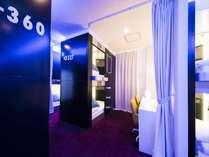 【近未来型カプセル!】◆完全個室のプライベート空間!◇湯ったり大浴場&サウナ●素泊まり●