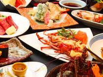 ご夕食の一例!たっぷり宮崎の味覚をご堪能くださいね!