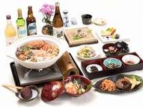 冬期夕食例日替わり鍋