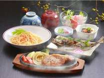 味とボリュームで好評の日替わり夕食をお値打ち価格でご提供しております。