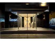 スーパーホテル八幡浜正面玄関
