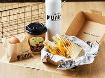 【デリバリー朝食】カフェの朝食をお届け(有料)※チェックイン時にお申し出ください