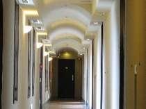 客室廊下(正面はKodachiラグジュアリー)