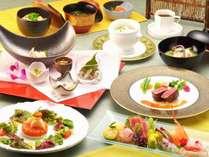 「和洋折衷コース」和食と洋食のコラボレーションディナー
