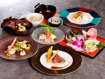 「和洋折衷コース」和食と洋食のコラボレーションディナー(イメージ)