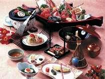 ■豪華汐彩会席コース料理『お正月』(刺身は4人盛)