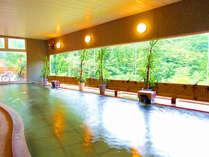 *【くつろぎの湯】温泉は、源泉から24時間絶え間なく送られています。