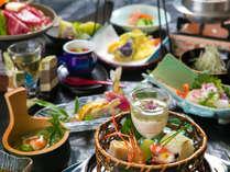 【基本会席◇梅コース】旬の食材を創作会席で楽しめる当館のスタンダードコース♪