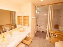 【コーナーツインルーム】ゆったりとしたバスルーム