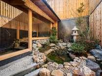 お風呂 坪庭