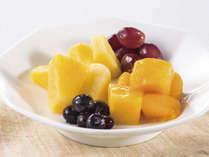 栄養価たっぷりのフルーツは1日のはじまりにおすすめ。