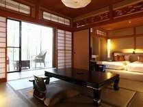 【すずらん】2間の和室は落ち着いた雰囲気を味わえる和室