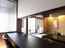 和室にてお茶菓子もご用意。